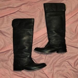 Frye Shoes - Frye leather Moto knee high boots women's size 7